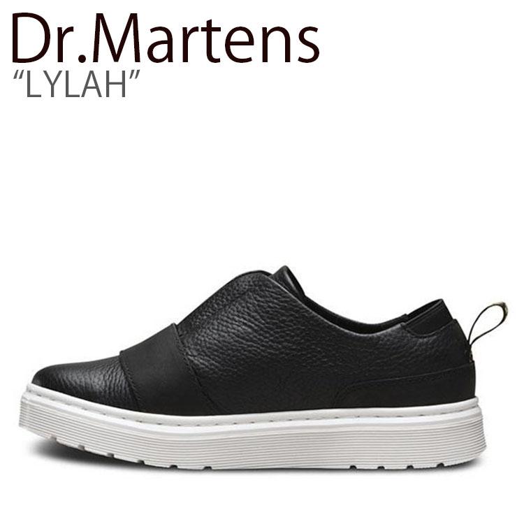 ドクターマーチン スニーカー Dr.Martens メンズ レディース LYLAH ライラ BLACK ブラック 22223001 シューズ 【中古】未使用品