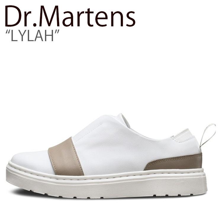 ドクターマーチン スニーカー Dr.Martens メンズ レディース LYLAH ライラ WHITE ホワイト 23488100 シューズ 【中古】未使用品