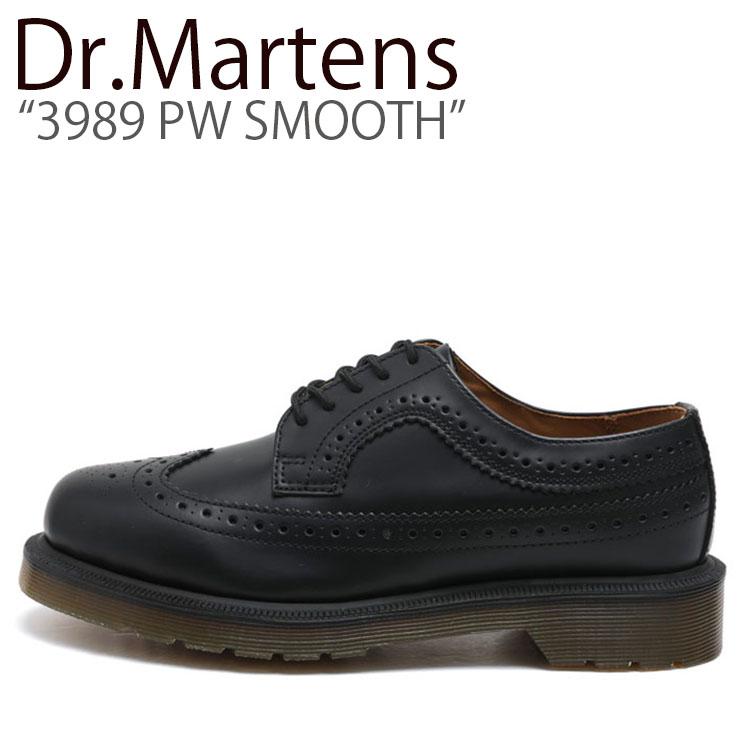 ドクターマーチン スニーカー Dr.Martens メンズ レディース 3989 PW SMOOTH 3989 PW スムース BLACK ブラック 24340001 シューズ 【中古】未使用品