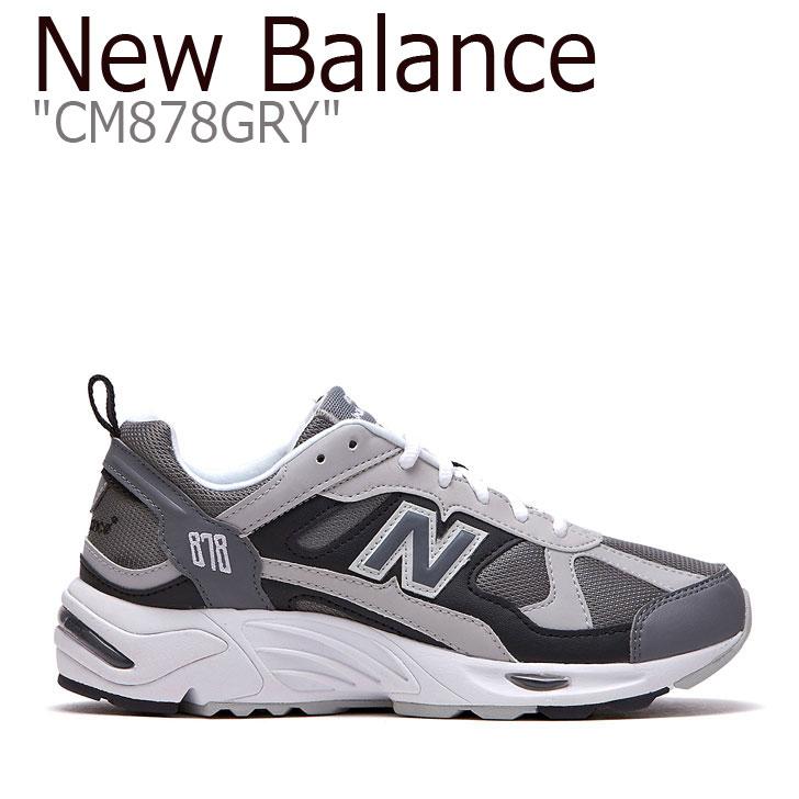 Balance878 GREY NBPD9F720G グレー スニーカー メンズ シューズ レディース 878 CM878GRY ニューバランス 【中古】未使用品 Balance 878 New FLNB9F3U91 GRY New CM