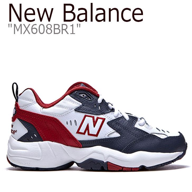 ニューバランス 608 スニーカー New Balance メンズ レディース MX 608 BR1 New Balance 608 BURGANDY バーガンディー MX608BR1 FLNB9F5U16 NBPT9B101D シューズ 【中古】未使用品