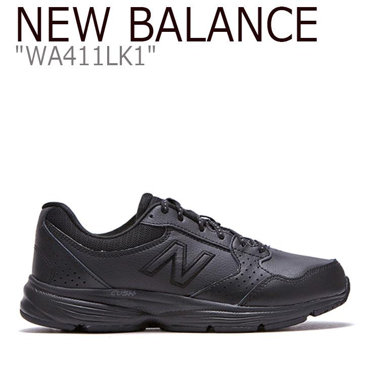 ニューバランス 411 スニーカー New Balance レディース WA 411 LK1 New Balance411 BLACK ブラック WA411LK1 FLNB9F4W163 シューズ 【中古】未使用品