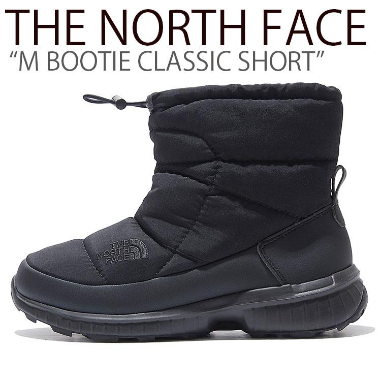 ノースフェイス ブーツ THE NORTH FACE メンズ M BOOTIE CLASSIC SHORT M ブーティ クラシック ショート BLACK ブラック NS99K55A/J シューズ 【中古】未使用品