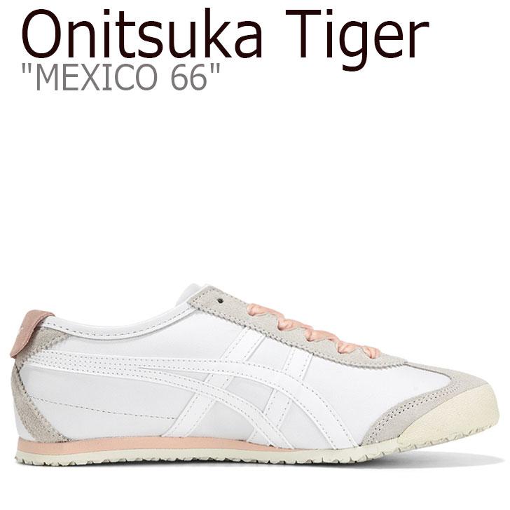 オニツカタイガー メキシコ 66 スニーカー Onitsuka Tiger レディース MEXICO 66 メキシコ 66 WHITE ホワイト BREEZE ブリーズ 1182A104-100 シューズ