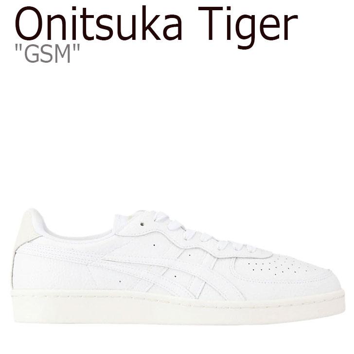 オニツカタイガー スニーカー Onitsuka Tiger メンズ レディース GSM ジーエスエム WHITE ホワイト 1183A515-100 シューズ