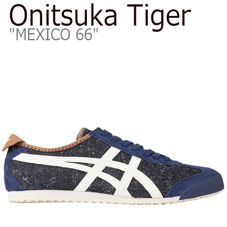 オニツカタイガー メキシコ 66 スニーカー Onitsuka Tiger メンズ レディース MEXICO 66 メキシコ 66 INDIGO DENIM インディゴ デニム WHITE ホワイト 1183A521-400 シューズ