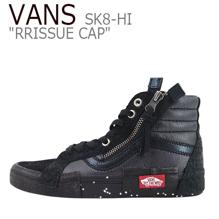 バンズ スケートハイ スニーカー VANS メンズ レディース SK8-HI REISSUE CAP スケートハイ リシューキャップ BLACK ブラック VN0A3WM1TUS シューズ