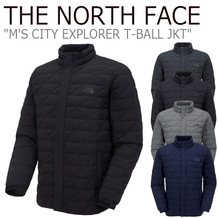 ノースフェイス ジャケット THE NORTH FACE メンズ M'S CITY EXPLORER T-BALL JKT シティ エクスプローラー ティーボールジャケット 全5色 NJ3NL50A/B/C/D/E ウェア 【中古】未使用品