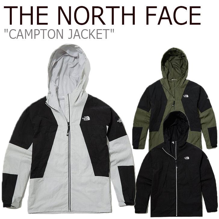 ノースフェイス ジャケット THE NORTH FACE メンズ レディース CAMPTON JACKET キャンプトンジャケット GRAY グレー KHAKI カーキ BLACK ブラック NJ4HL03J/K/L ウェア 【中古】未使用品