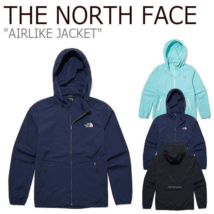ノースフェイス ジャケット THE NORTH FACE メンズ レディース AIRLIKE JACKET エアライクジャケット MINT ミント BLACK ブラック NAVY ネイビー NJ4HL05J/K/L ウェア 【中古】未使用品