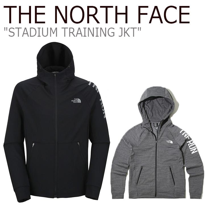 ノースフェイス ジャケット THE NORTH FACE メンズ レディース STADIUM TRAINING JKT スタジアム トレーニングジャケット BLACK ブラック GRAY グレー NJ5JK01A/B ウェア 【中古】未使用品