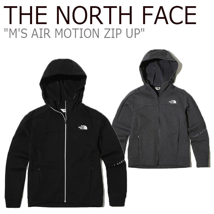 ノースフェイス ジャケット THE NORTH FACE メンズ M'S AIR MOTION ZIP UP エア モーション ジップアップ BLACK ブラック GREY グレー NJ5JK01J/K ウェア 【中古】未使用品