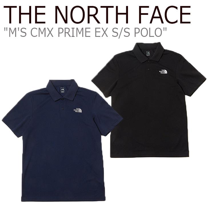 ノースフェイス ポロシャツ THE NORTH FACE メンズ M'S CMX PRIME EX S/S POLO クールマックス EX ショートスリーブ ポロ 半袖 NAVY ネイビー BLACK ブラック NT7PL06A/B ウェア 【中古】未使用品