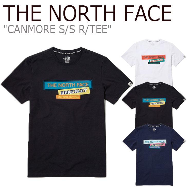 ノースフェイス Tシャツ THE NORTH FACE メンズ レディース CANMORE S/S R/TEE キャンモア ショートスリーブ ラウンドTEE 全3色 NT7UL09J/K/L ウェア 【中古】未使用品