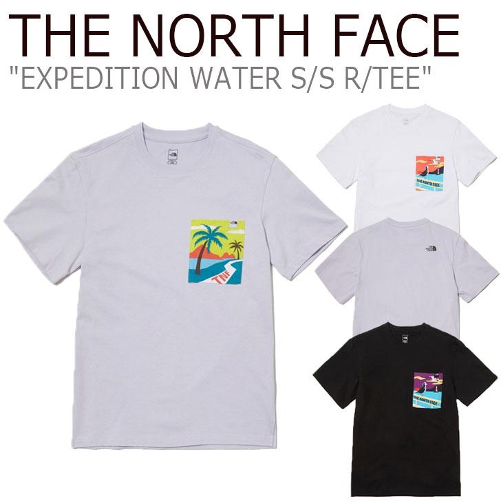 ノースフェイス Tシャツ THE NORTH FACE メンズ レディース EXPEDITION WATER S/S R/TEE エクスペディション ウォーター ショートスリーブ ラウンドTEE 全3色 NT7UL10A/B/C ウェア 【中古】未使用品