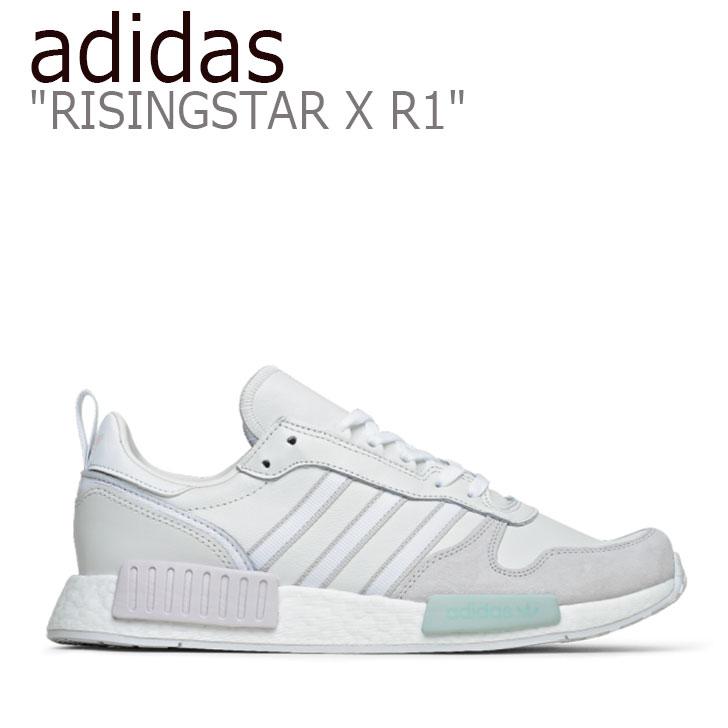 アディダス スニーカー adidas メンズ レディース RISINGSTAR X R1 ライジングスター WHITE GREY ホワイト グレー G28939 シューズ 【中古】未使用品