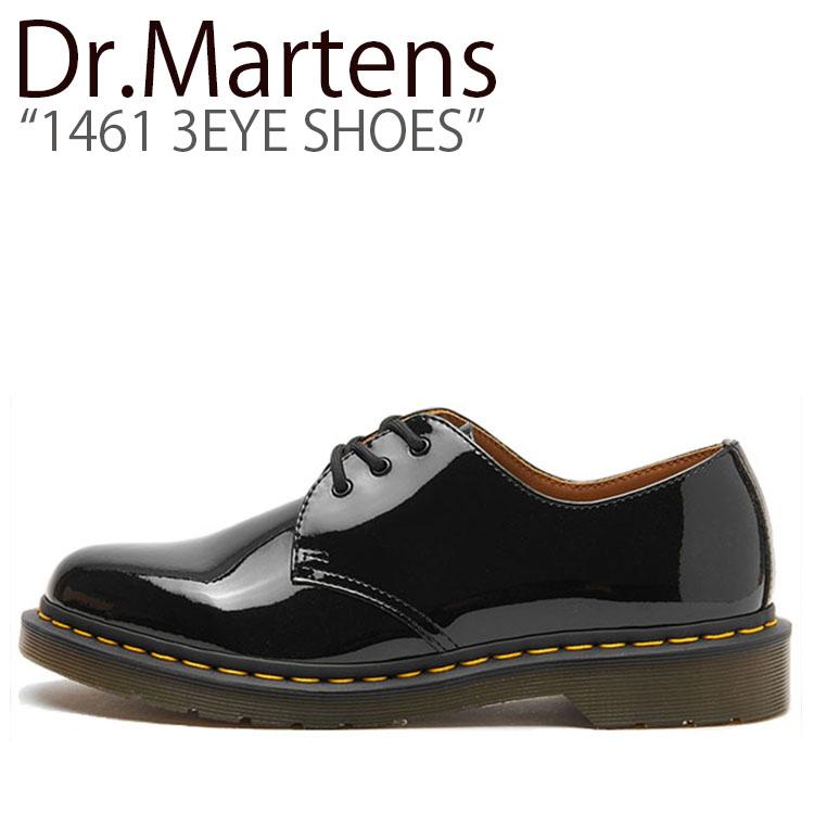 ドクターマーチン スニーカー Dr.Martens メンズ レディース 1461 3EYE SHOES 1461 3ホールシューズ BLACK ブラック 10084001 シューズ 【中古】未使用品