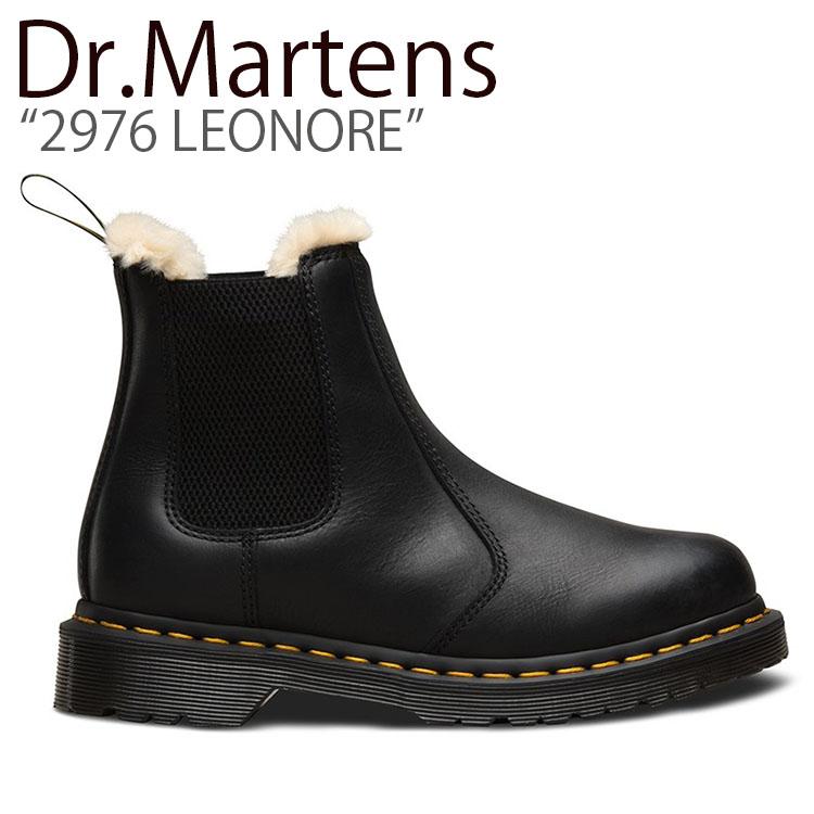 ドクターマーチン スニーカー Dr.Martens メンズ レディース 2976 LEONORE 2976 レオノーレ BLACK ブラック 21045001 シューズ 【中古】未使用品