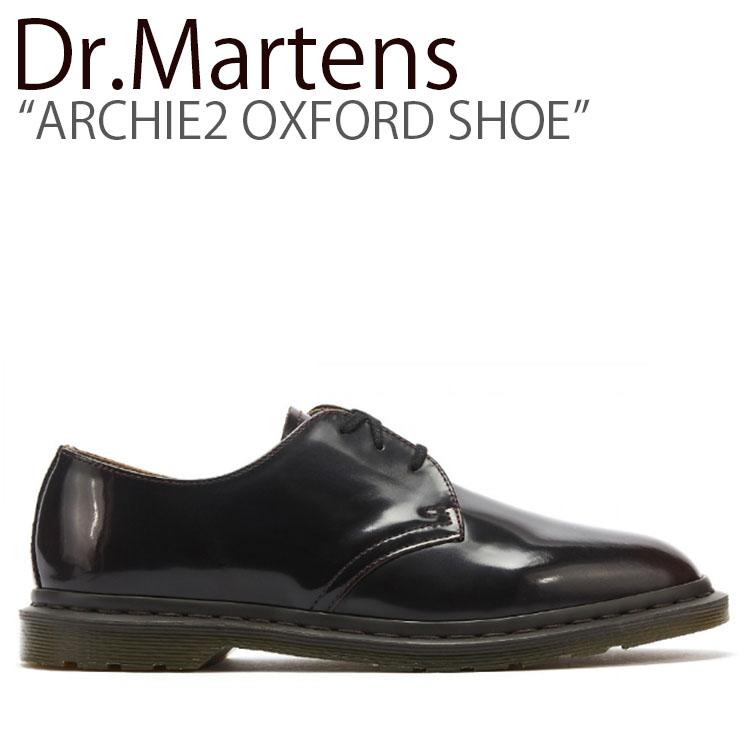 ドクターマーチン スニーカー Dr.Martens メンズ レディース ARCHIE2 OXFORD SHOE アーチー2 オックスフォード シュー CHERRY RED チェリーレッド 25029600 シューズ 【中古】未使用品