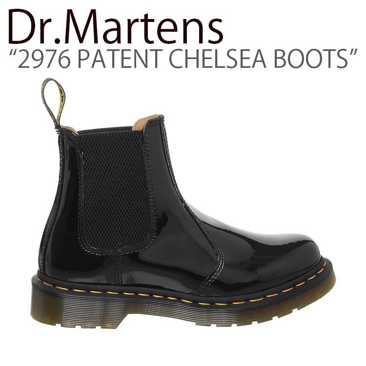 ドクターマーチン スニーカー Dr.Martens メンズ レディース 2976 PATENT CHELSEA BOOTS 2976 パテント チェルシーブーツ BLACK ブラック 25278001 シューズ 【中古】未使用品