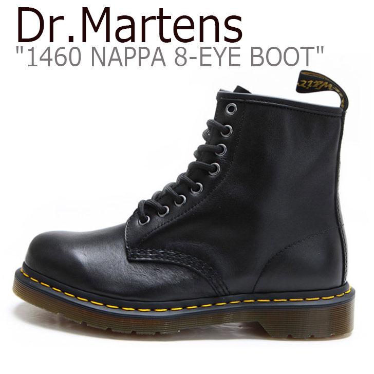 ドクターマーチン スニーカー Dr.Martens メンズ 1460 NAPPA 8-EYE BOOT 1460 ナッパ 8-ホール ブーツ BLACK ブラック 11822002 シューズ 【中古】未使用品