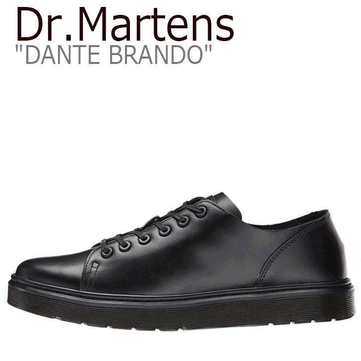 ドクターマーチン スニーカー Dr.Martens メンズ レディース DANTE BRANDO ダンテ ブランド BLACK ブラック 16736001 シューズ 【中古】未使用品