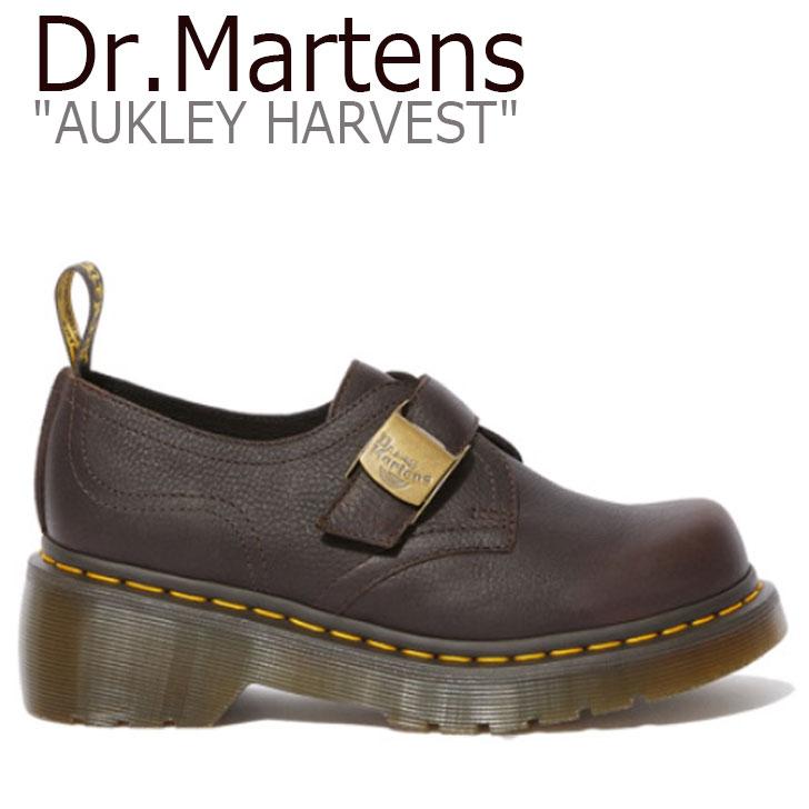 ドクターマーチン スニーカー Dr.Martens レディース AUKLEY HARVEST オークリー ハーベスト BROWN ブラウン 25290203 シューズ 【中古】未使用品