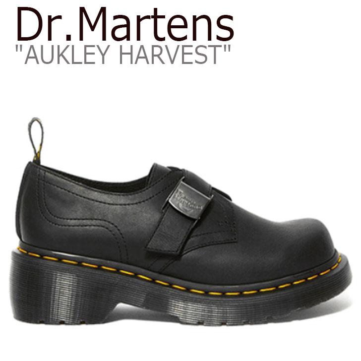 ドクターマーチン スニーカー Dr.Martens レディース AUKLEY HARVEST オークリー ハーベスト BLACK ブラック 25291001 シューズ 【中古】未使用品