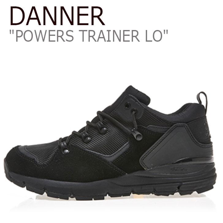 ダナー スニーカー DANNER メンズ POWERS TRAINER LO パワーズ トレーナー ロー BLACK ブラック D124266 シューズ