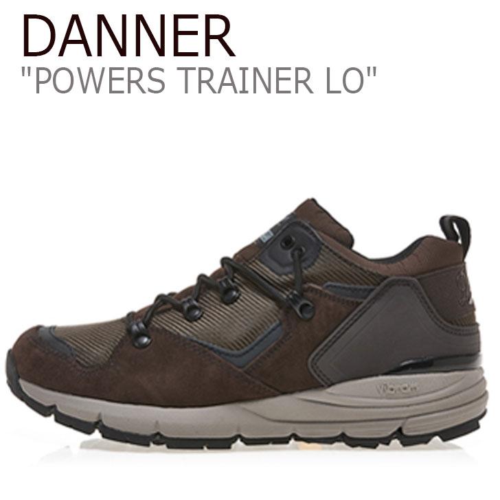 ダナー スニーカー DANNER メンズ POWERS TRAINER LO パワーズト レーナー ロー BROWN ブラウン D124266 シューズ