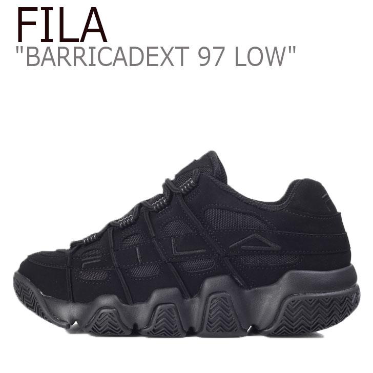 フィラ スニーカー FILA メンズ レディース BARRICADEXT 97 LOW バリケードXT 97 ロウ BLACK ブラック FS1HTB3841X シューズ