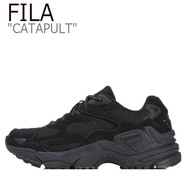 フィラ スニーカー FILA メンズ レディース CATAPULT カタパルト BLACK ブラック 1GM00830-001 シューズ