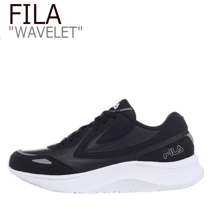 フィラ スニーカー FILA メンズ レディース WAVELET ウェーブレット BLACK ブラック 1RM01263-021 シューズ
