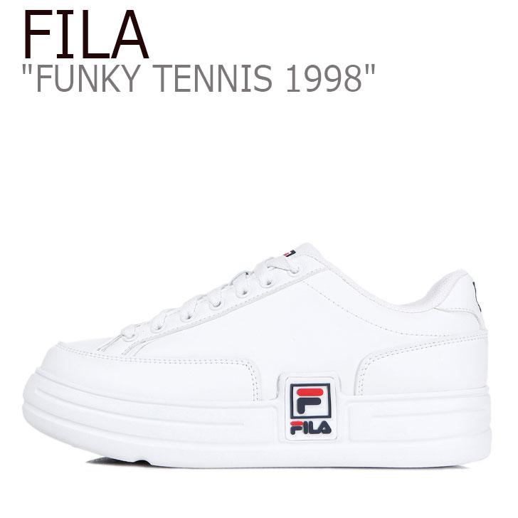 フィラ スニーカー FILA メンズ レディース FUNKY TENNIS 1998 ファンキー テニス 1998 WHITE ホワイト TM00622-100 シューズ