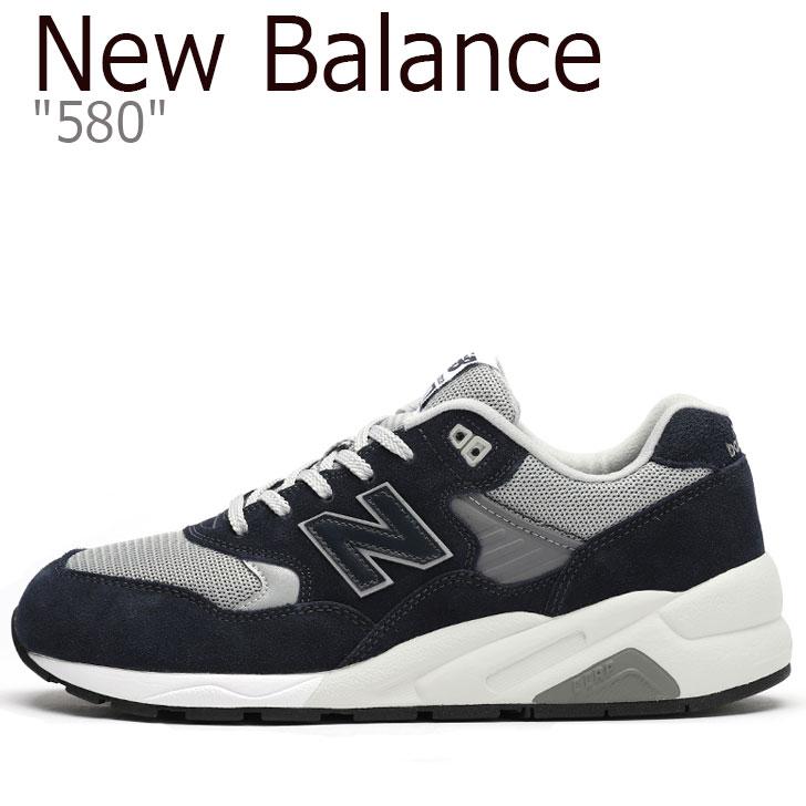 ニューバランス 580 スニーカー New Balance メンズ CMT 580 CB New Balance 580 NAVY ネイビー CMT580CB シューズ 【中古】未使用品