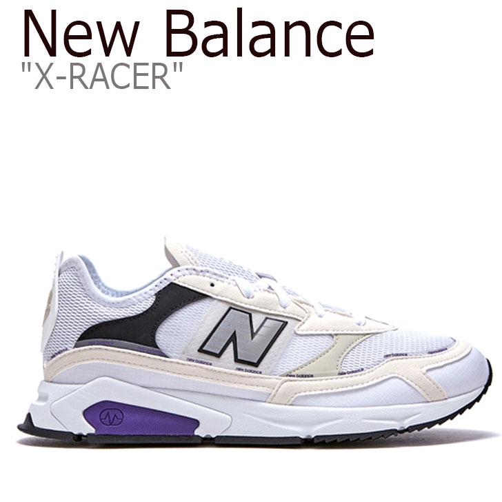 ニューバランス スニーカー New Balance メンズ レディース X-RACER X-レーサー WHITE ホワイト MSXRCHTE FLNB9F4U07 NBPD9B012W シューズ 【中古】未使用品