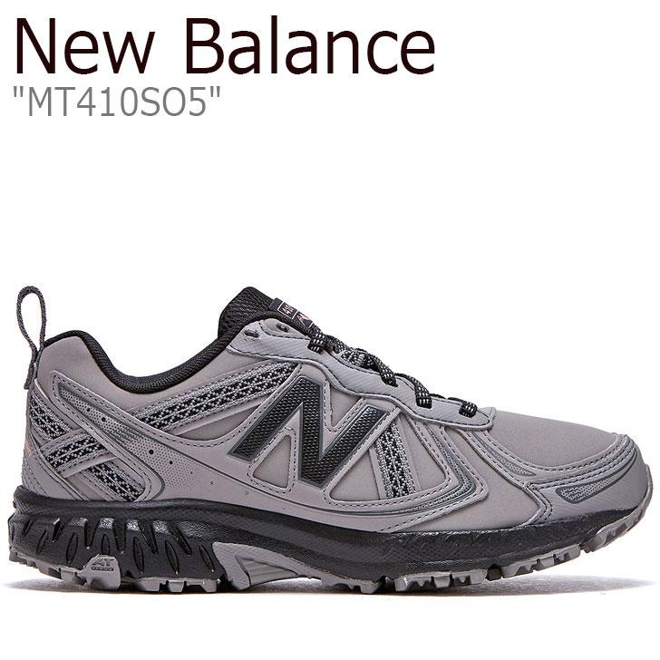 ニューバランス 410 スニーカー New Balance メンズ レディース MT 410 SO5 new balance 410 GREY グレー FLNB9F4U11 NBPF9F032G MT410SO5 シューズ 【中古】未使用品
