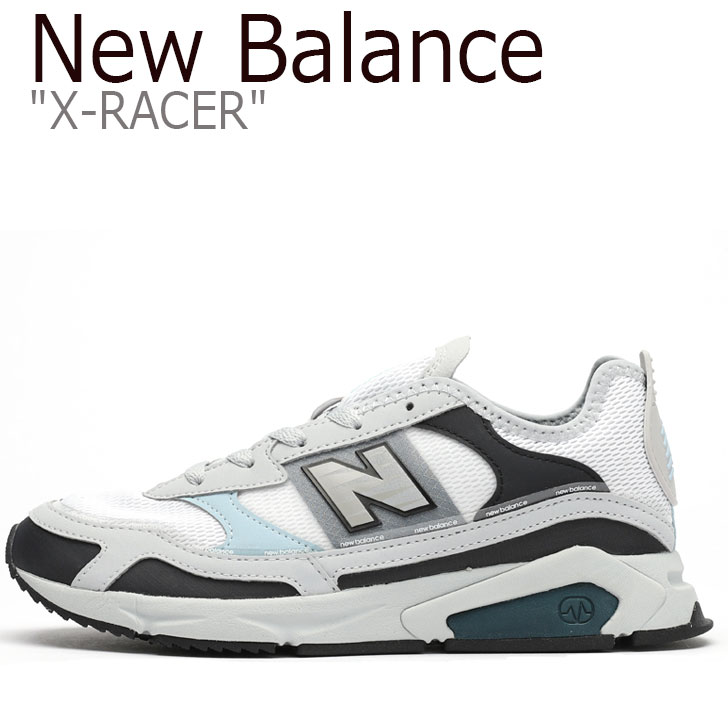 ニューバランス スニーカー New Balance レディース X-RACER X-レーサー GRAY グレー WSXRCHFB シューズ 【中古】未使用品
