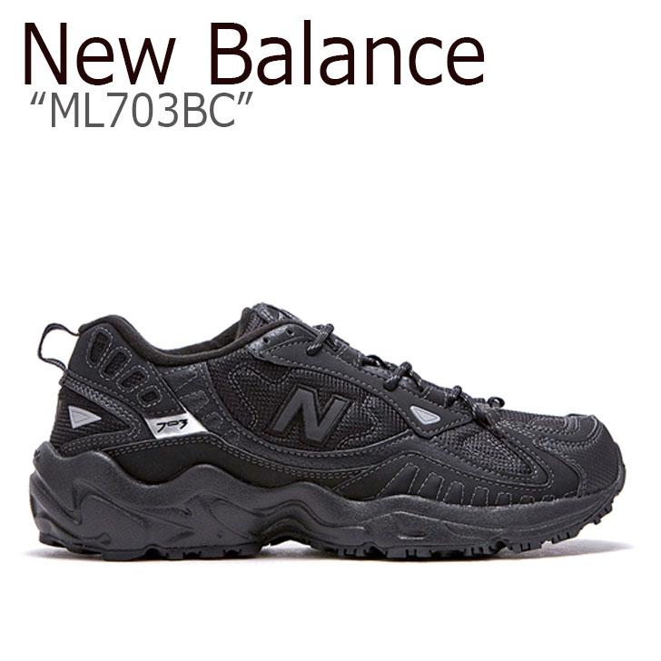 ニューバランス 703 スニーカー New Balance メンズ ML 703 BC new balance 703 BLACK ブラック FLNBAA1M19 NBPDAS153K ML703BC シューズ 【中古】未使用品
