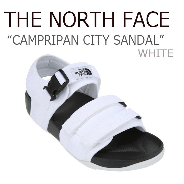 ノースフェイス サンダル THE NORTH FACE メンズ レディース CAMPRIPAN CITY SANDAL キャンプリパン シティー サンダル WHITE ホワイト NS98J14B NS98J14K シューズ 【中古】未使用品