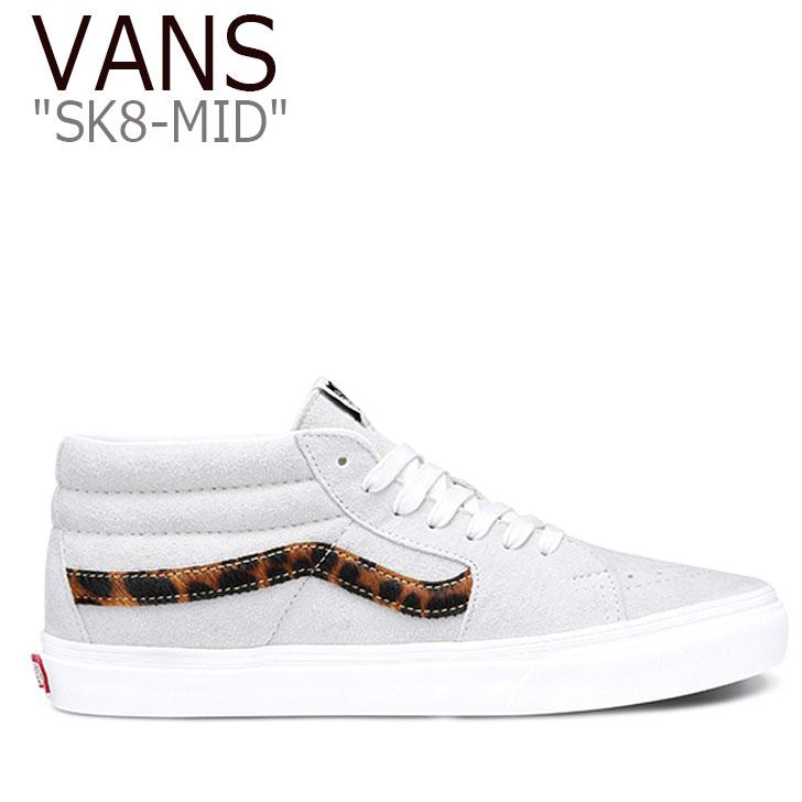 バンズ スケートミッド スニーカー VANS レディース SK8-MID スケート ミッド MARSHMALLOW WHITE マシュマロ ホワイト VN0A3WM30331 シューズ
