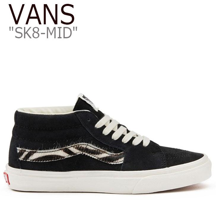 バンズ スケートミッド スニーカー VANS レディース SK8-MID スケート ミッド BLACK ブラック VN0A3WM30341 シューズ