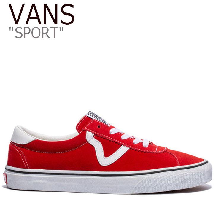 バンズ スニーカー VANS メンズ レディース SPORT スポーツ RACING RED TRUE WHITE レッド ホワイト VN0A4BU6VYG1 シューズ