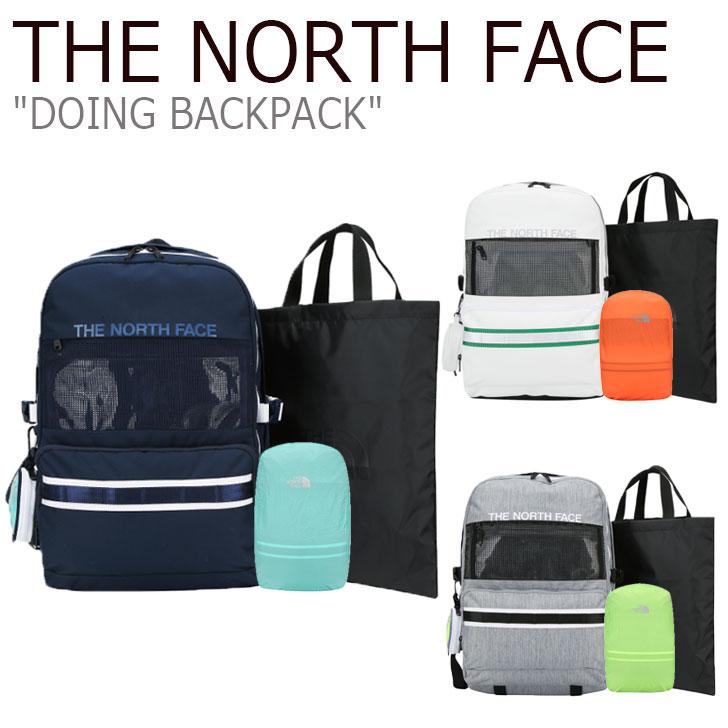 ノースフェイス リュック THE NORTH FACE メンズ レディース DOING BACKPACK ドゥーイング バックパック NAVY ネイビー WHITE ホワイト GREY グレー NM2DJ02K/L/M バッグ 【中古】未使用品