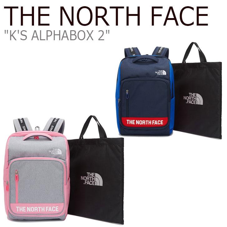 ノースフェイス バックパック THE NORTH FACE メンズ レディース K'S ALPHABOX 2 アルファボックス PINK ピンク NAVY ネイビー NM2DK51R/S バッグ 【中古】未使用品