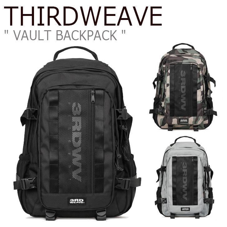 サードウェーブ リュックサック THIRDWEAVE メンズ レディース VAULT BACKPACK ボルト バックパック BLACK GRAY WOODLAND ブラック グレー ウッドランド WBP005-101/667/429 バッグ
