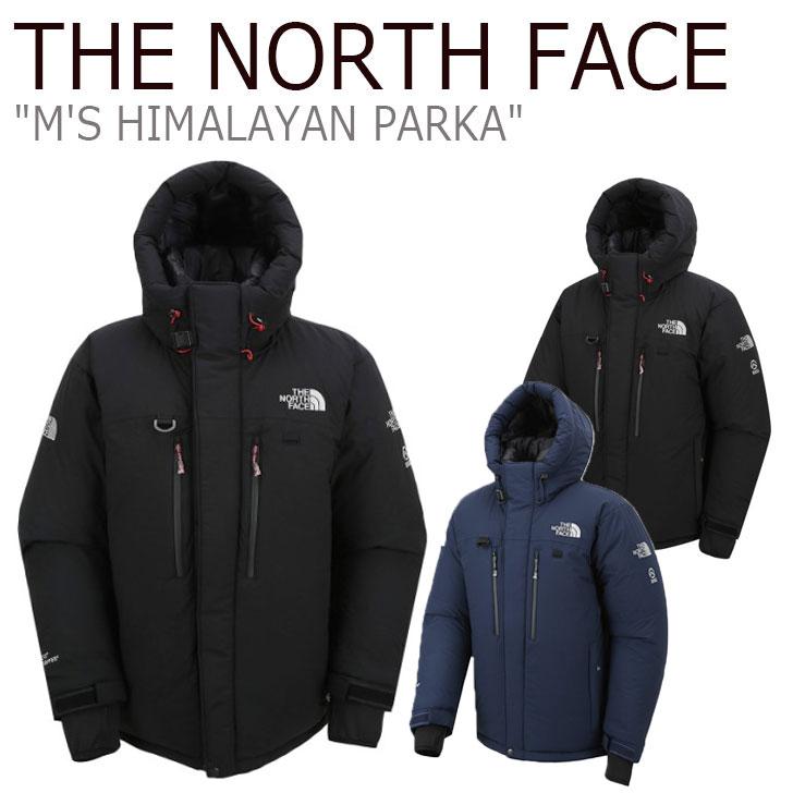 ノースフェイス ダウン THE NORTH FACE メンズ M'S HIMALAYAN PARKA ヒマラヤン パーカ BLACK ブラック DARK NAVY ネイビー NJ1DJ51A/C NJ1DK72A ウェア 【中古】未使用品
