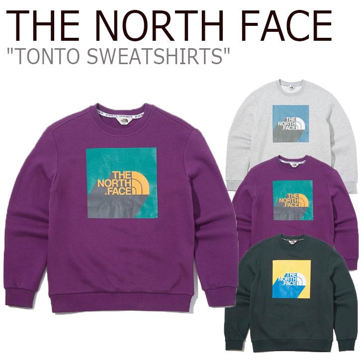 ノースフェイス トレーナー THE NORTH FACE メンズ レディース TONTO SWEATSHIRTS トント スウェットシャツ 全3色 NM5MK51J/K/L ウェア 【中古】未使用品