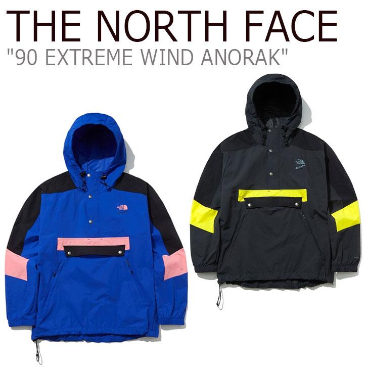 ノースフェイス ジャケット THE NORTH FACE メンズ 90 EXTREME WIND ANORAK 90 エクストリーム ウインド アノラック 全2色 NA3BL00A/B ウェア 【中古】未使用品