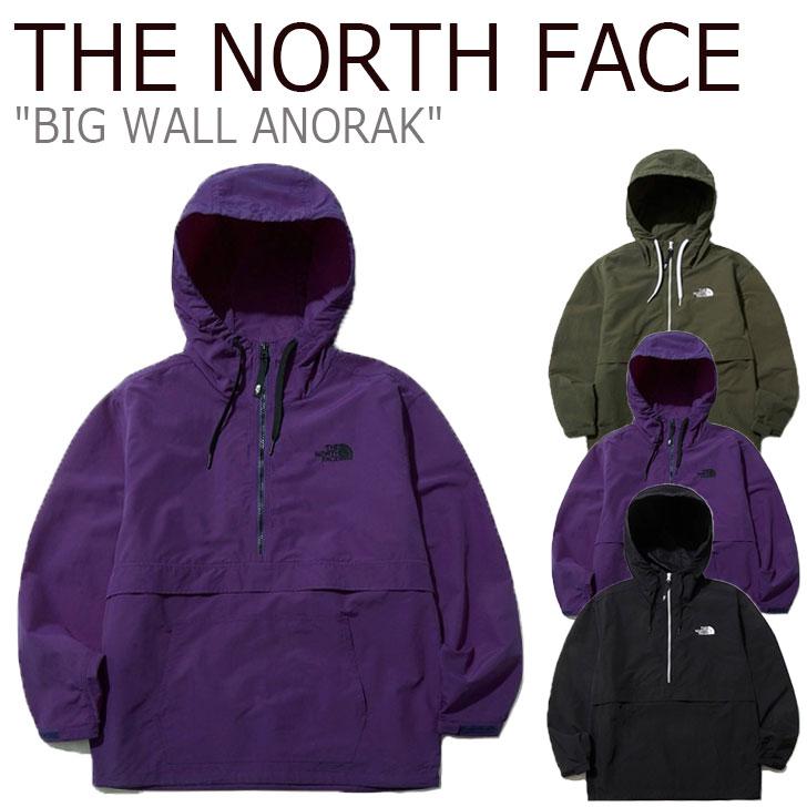 ノースフェイス ジャケット THE NORTH FACE メンズ レディース BIG WALL ANORAK ビック ウォール アノラック 全3色 NA3BL01A/B/C ウェア 【中古】未使用品